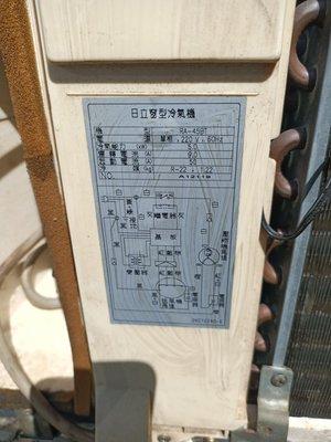 日立1.8噸窗型冷氣只賣6000