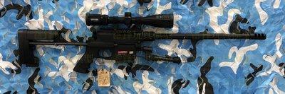 [雷鋒玩具模型]-Ares Msr Wr 手拉空氣槍(黑) (瓦斯 CO2 BB彈 狙擊槍 紅外線 矽油)