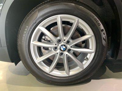 BMW X1 F48 原廠17吋鋁圈+失壓續跑胎 2021年3月掛牌 新車落地胎 9.9成新 售2萬元  誠可小刀 台北 請速洽!