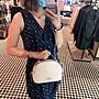 COACH 1589 新款女士Serena饅頭包 全素色手提包 單肩斜挎包