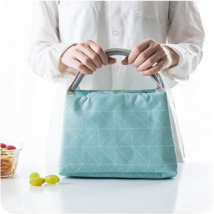 創意日式小清新加厚保溫便當包.野餐袋.便當袋.飲料包,收納包(雷)