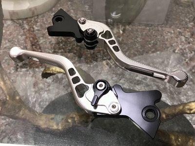 免運 偉士牌 Vespa  gts gtv gt200最新 CNC 可調拉桿  短板 立體 雕刻 銀色拉桿 可調