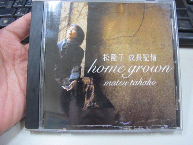 二手舖 NO.3443 CD 日語 松隆子 成長記情