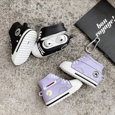 創意 Airpods 保護套 GD 小雛菊 airpods1 airpods2 pro 3代 藍芽耳機保護套 防撞 球鞋