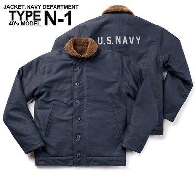 [ Satisfaction ] BRONSON復刻美國海軍N1 Deck Jacket甲板外套 深藍