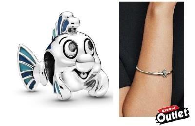 【全球購.COM】PANDORA 潘朵拉 迪士尼新款琺瑯小比目魚串珠 925純銀 美國正品代購