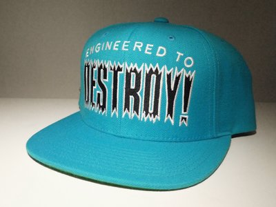 [Spun Shop]Mishka Engineered To Destroy Snapback Cap棒球帽 五片帽