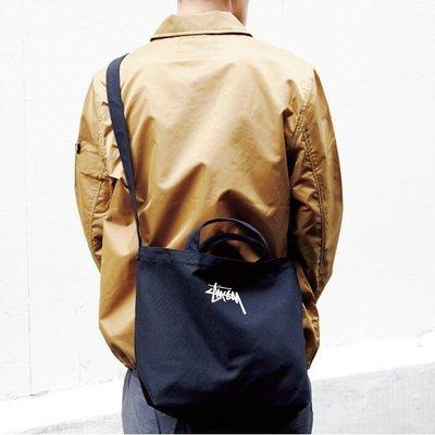 [瑞絲小舖]~日雜mook2017春夏號附錄Stussy肩背手提兩用托特包 肩背包 手提包 通勤袋 書包