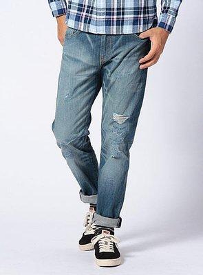 【日貨代購CITY】日版 LEVIS CLASSIC 508 直筒牛仔褲 破壞 牛王 縮褲腳 16508-0216 現貨