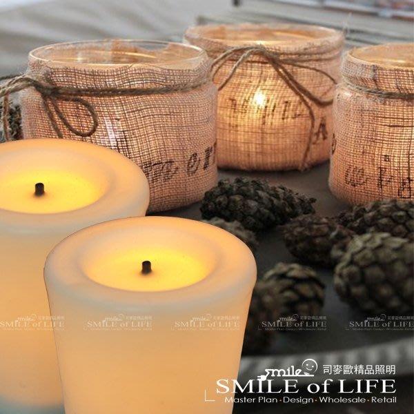 蠟燭燈 LED 蠟燭燈 4.5CM單黃色模擬燭火$59/個 婚禮/酒吧/餐廳/氣氛營造 ☆SMILE 創意商品批發