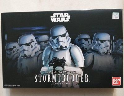 Star Wars Stormtrooper 星球大戰 白兵 1/12 模型 全新