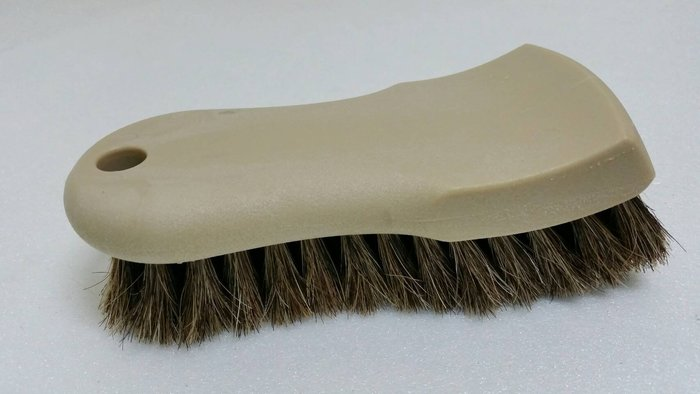 愛車美*~Horse Hair Interior Upholstery Brush天然馬毛內裝皮革清潔刷/皮革鬃 皮革刷