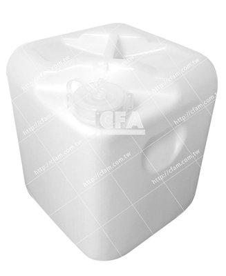 客訂5個 : 全新化學桶20L 白/單個 5加侖20公升塑膠桶