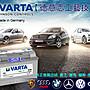《高雄電池》汽車電池 德國VARTA(H3 100AH)...