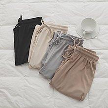 Maisobo 韓國KOREA實拍 限量款夏季鬆緊腰繫帶闊腿褲 ME-91 預購