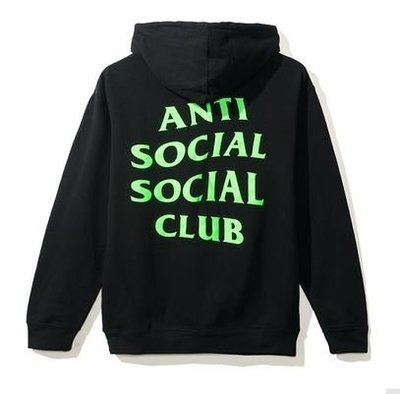 【日貨代購CITY】2017AW Anti Social Social Club LOGO 帽TEE 黑綠 現貨