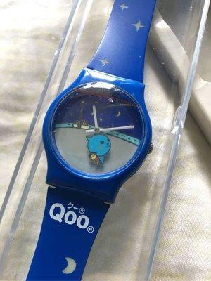 全新 可口可樂精品 Qoo 原裝手錶 月夜跳舞款 Tango 深藍色