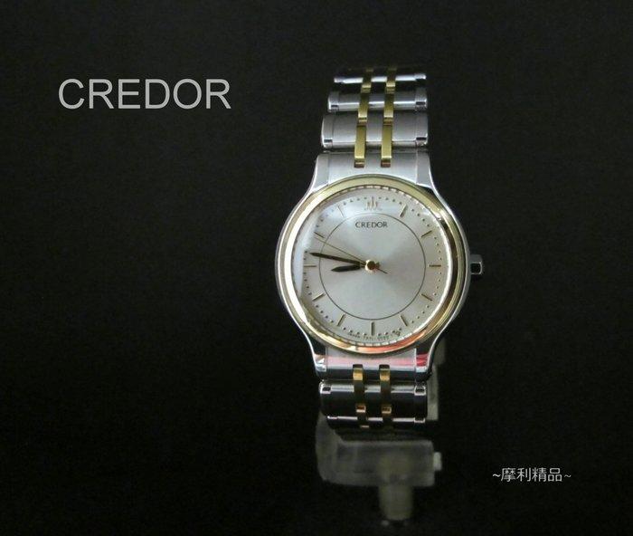 【摩利精品】credor日本貴朵半金女錶 *真品* 低價特賣