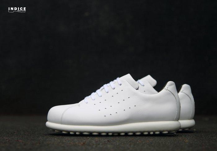 INDiCE ↗ CAMPER Pelotas K100125 經典皮革休閒男鞋 紳士白