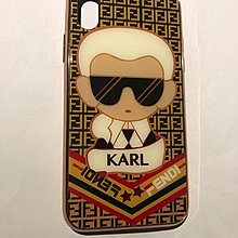Fends Karl iPhone X case