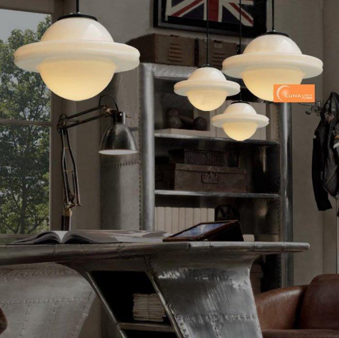 【LUNA LIGHT 月之燈坊】北歐簡約風飛碟單吊燈玄關燈吧檯燈餐廳燈(P-522)