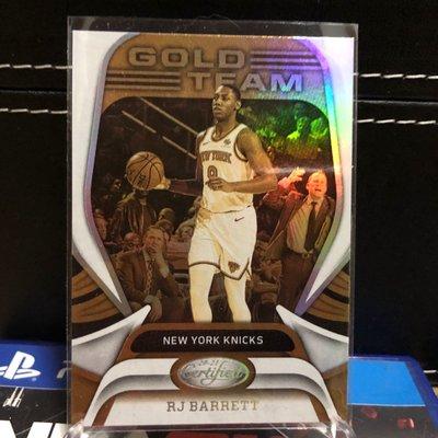 競標 RJ Barrett 2020-21 20-21 Panini Certified Gold Team NY Knicks SHIPPING