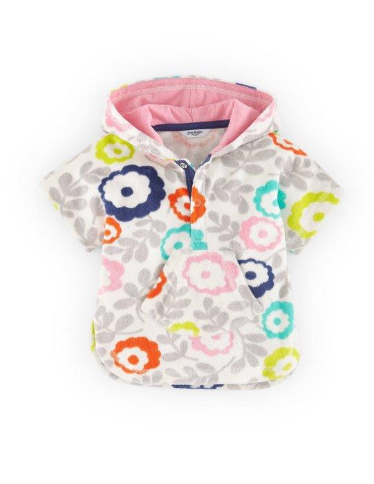 Dou Dou House*英國進口Mini Boden童裝 毛巾式上衣 泳衣外罩衣 (現貨)