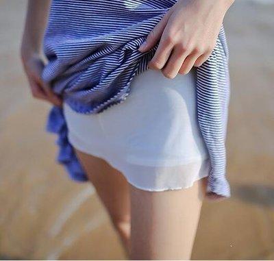 MORU部落 防走光半身內襯裙女半身裙裙子防透短裙打底小襯安全裙三分褲裙M36RU