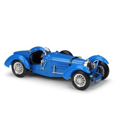阿米格Amigo│1934 布加迪 Bugatti Type 59 1:18 2開門 比美高 合金車 模型車 12062