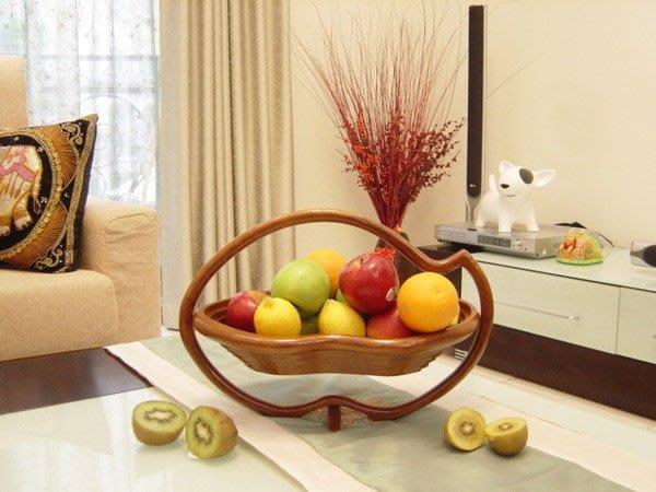 【永晴峇里島】巴里島精美造型木製水果盤-水果盤8