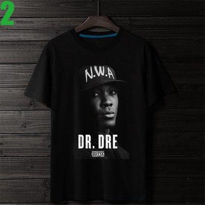 Dr. Dre【德瑞博士】短袖嘻哈饒舌(HIP-HOP RAP)歌手T恤(男生版.女生版皆有) 購買多件多優惠【賣場二】