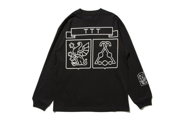 "[ LAB Taipei ] THE TRILOGY TAPES ""SHIELD L/S TEE"" (Black)"
