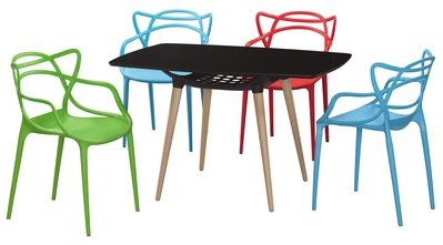 【毓璽傢具】 造型椅 塑鋼椅子 休閒椅 設計師首選 哈瑪斯洽談椅