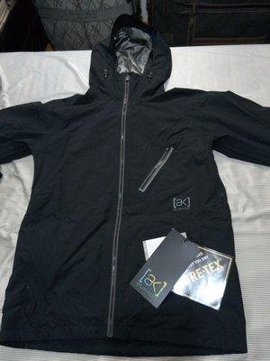 Burton [ak] 2L Cyclic JK Jacket Gore-Tex防水防風滑雪帽外套 男 黑色 防潑水 防雨