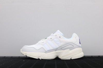 Adidas Yung-96 全白 百搭 老爹鞋 休閒運動慢跑鞋 F97176 男女鞋