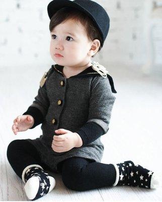 ❤現貨G007❤【鬆口五角星加厚毛圈襪】韓國新款冬季厚毛巾兒保暖童襪嬰兒寶寶止滑防滑襪子 聖誔節交換禮物