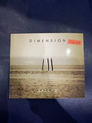 *還有唱片行*DIMENSION / BALLAD 二手 Y14244