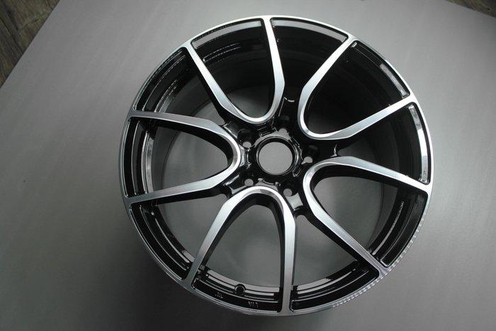 《台灣JGTC》框圈 EP08 黑色車面 璇壓 尺寸 inch 18 峻亞國際