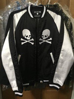A Bathing Ape Bape  X Mastermind Japan Souvenir Jacket 橫須賀 黃金S號