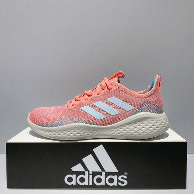 adidas FLUIDFLOW 女生 粉紅色 舒適 透氣 緩震 運動 慢跑鞋 EG3670
