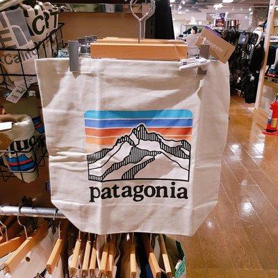 全新現貨 日本購入正品 Patagonia Canvas Bag tote 環保有機棉 帆布 購物 托特包