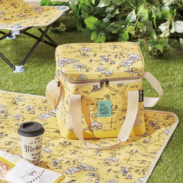 Disney迪士尼《預購》維尼森林 斷熱材質可折疊野餐袋 提袋~日本正品~心心小舖