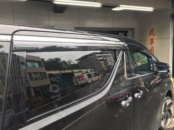 [花軍團精品] TOYOTA NEW ALPHARD 專用 原廠式樣 晴雨窗