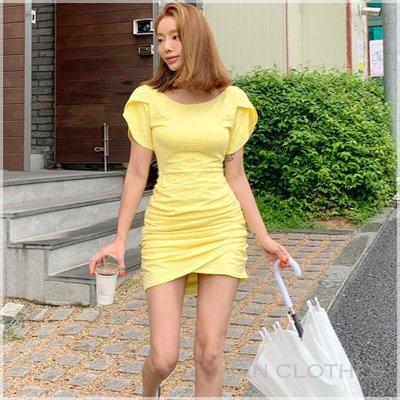 典雅氣質純色合身連身裙。韓國空運。MB0715。正韓 * KOREA 韓衣角!han clothes