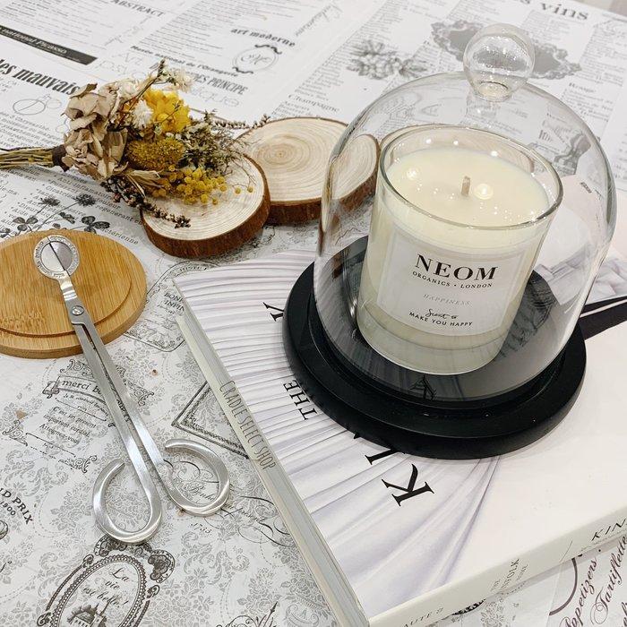 香氛 ◎ 玻璃盅 玻璃罩 含純黑底座 大尺寸 香氛蠟燭 乾燥花 不凋花 永生花
