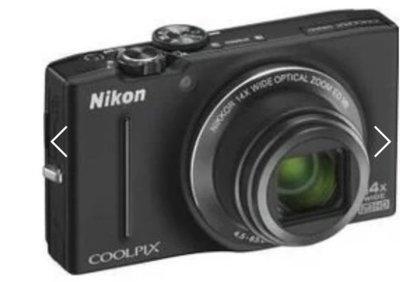 Nikon S8200 數位相機 取代 S2800 S2900 W810 W620 裸機 不含配件 功能正常