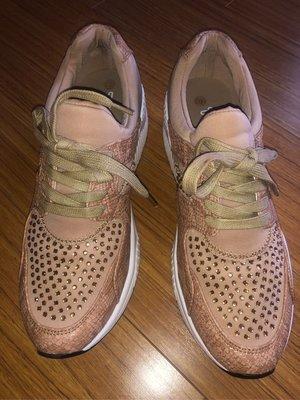 超級舒適鑲方水晶彈性球鞋size:40...