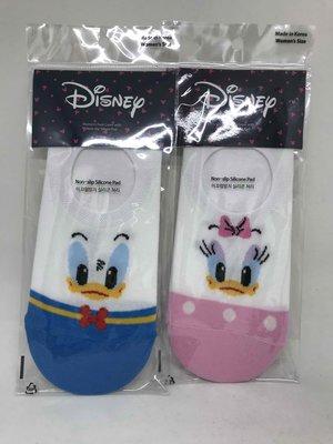 韓國正版  唐老鴨 黛西 領結系列隱形襪