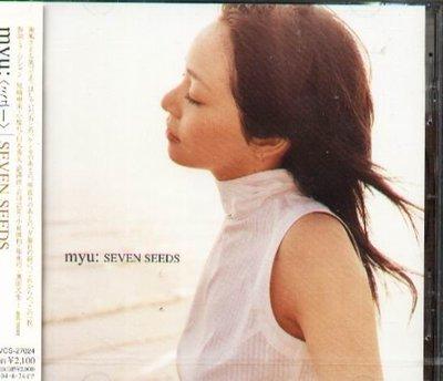 K - myu:  - SEVEN SEEDS - 日版 myu - NEW