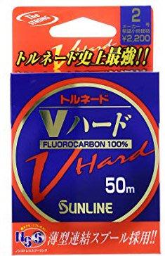 樂釣網路釣具 | 日本 SUNLINE V-HARD 史上最強!! 碳纖線 碳素線 卡夢線 磯釣子線 卡夢(3.5~5)